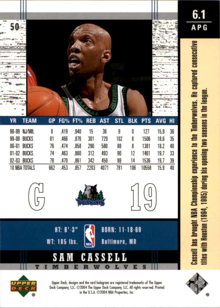 2003-04-Upper-Deck-Legends-Basketball-Cards-Pick-From-List thumbnail 99