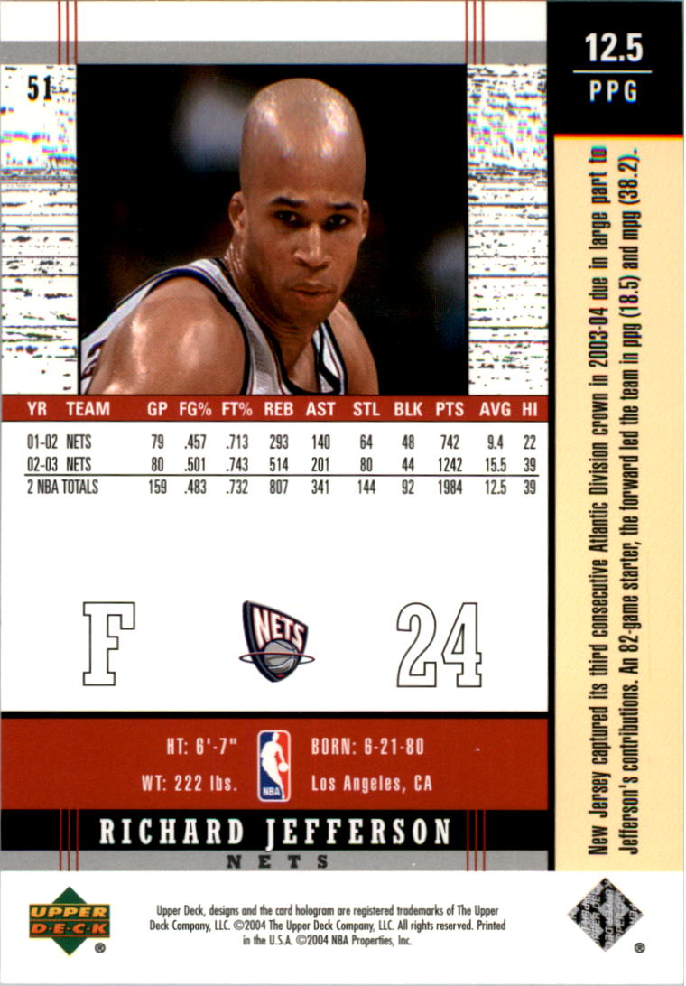 2003-04-Upper-Deck-Legends-Basketball-Cards-Pick-From-List thumbnail 101