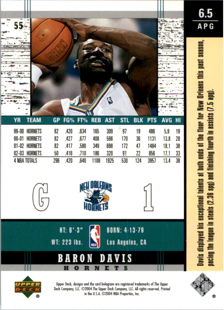 2003-04-Upper-Deck-Legends-Basketball-Cards-Pick-From-List thumbnail 109