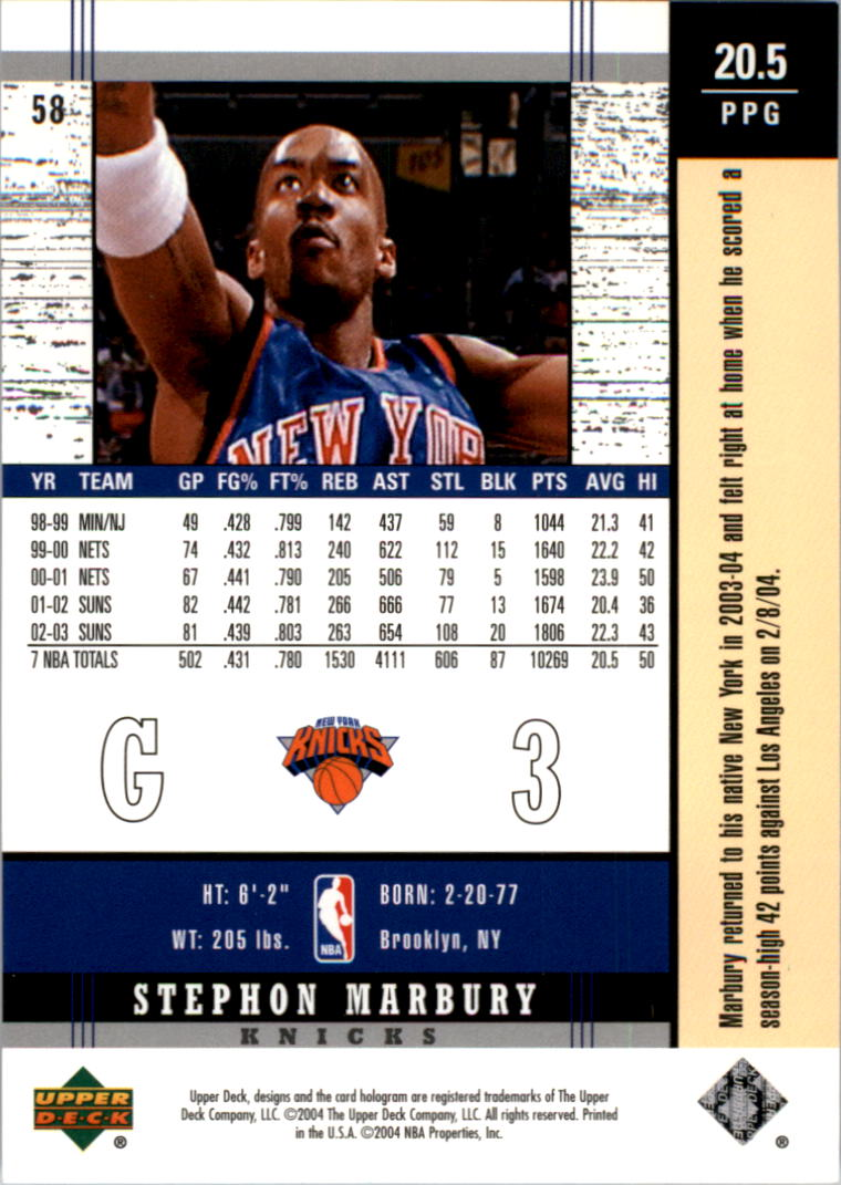 2003-04-Upper-Deck-Legends-Basketball-Cards-Pick-From-List thumbnail 115