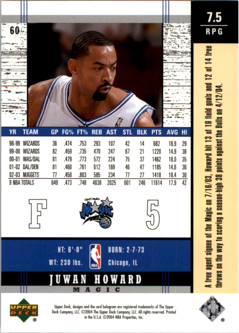 2003-04-Upper-Deck-Legends-Basketball-Cards-Pick-From-List thumbnail 119