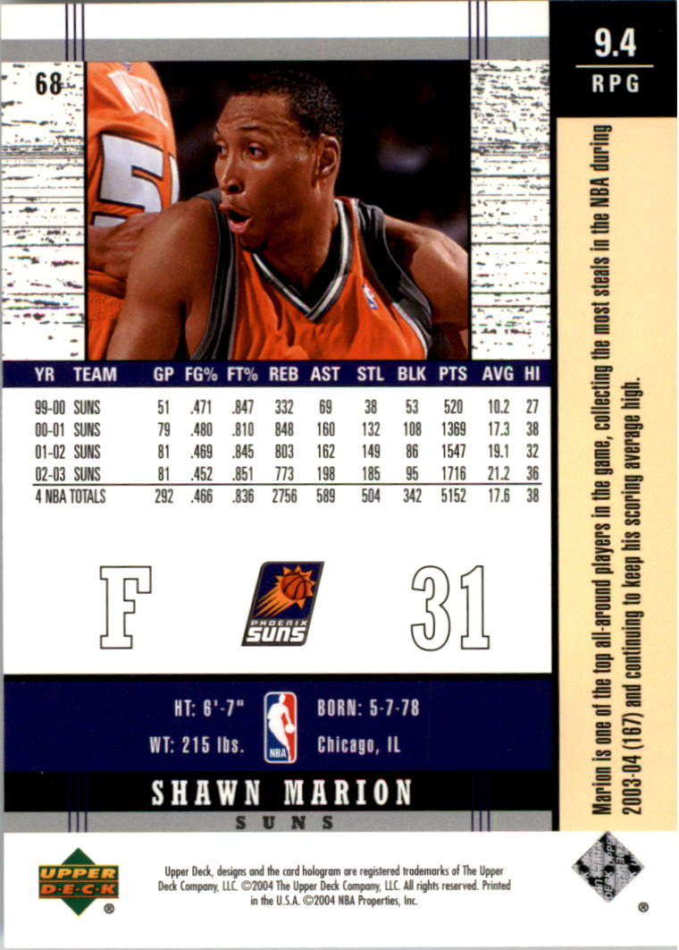 2003-04-Upper-Deck-Legends-Basketball-Cards-Pick-From-List thumbnail 135