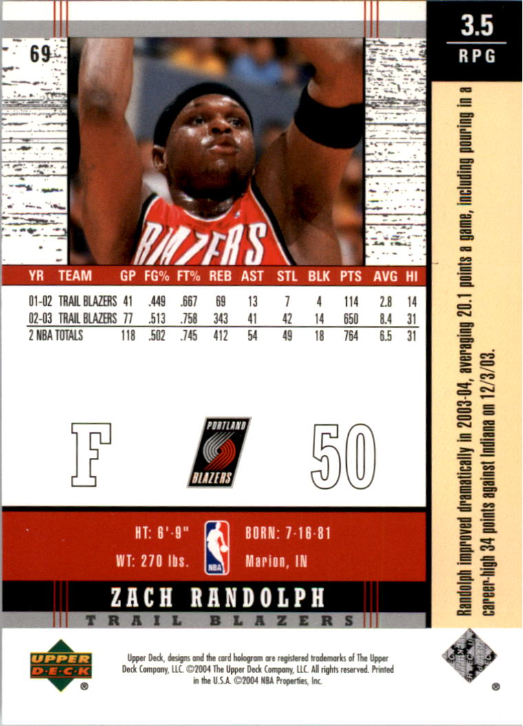 2003-04-Upper-Deck-Legends-Basketball-Cards-Pick-From-List thumbnail 137