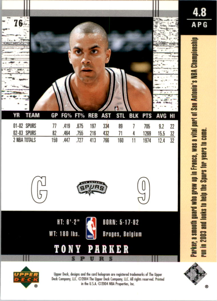 2003-04-Upper-Deck-Legends-Basketball-Cards-Pick-From-List thumbnail 151