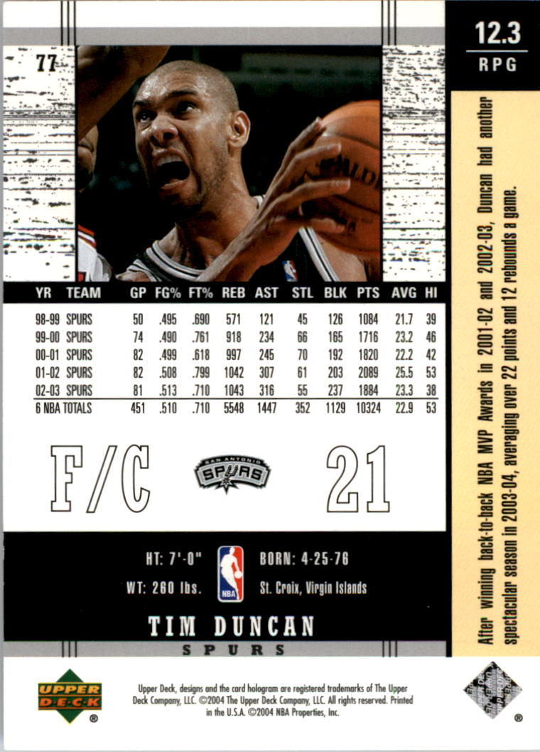 2003-04-Upper-Deck-Legends-Basketball-Cards-Pick-From-List thumbnail 153