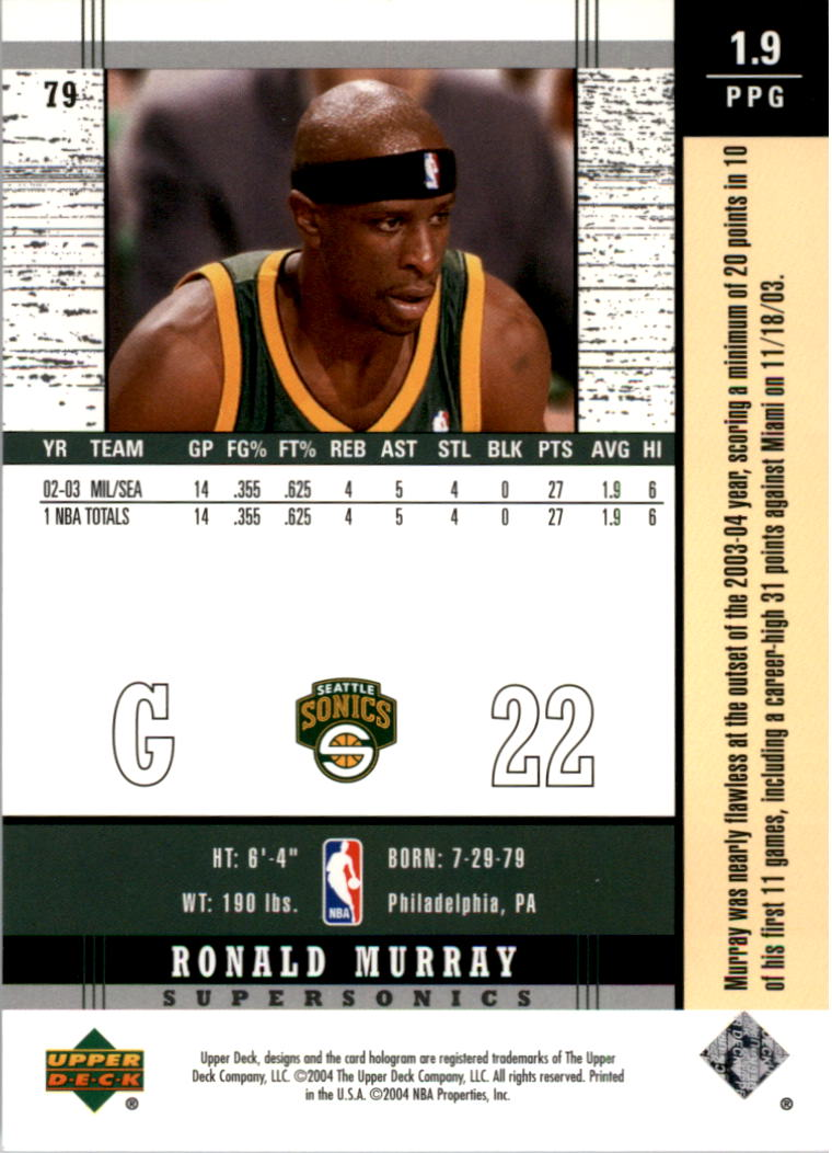 2003-04-Upper-Deck-Legends-Basketball-Cards-Pick-From-List thumbnail 157