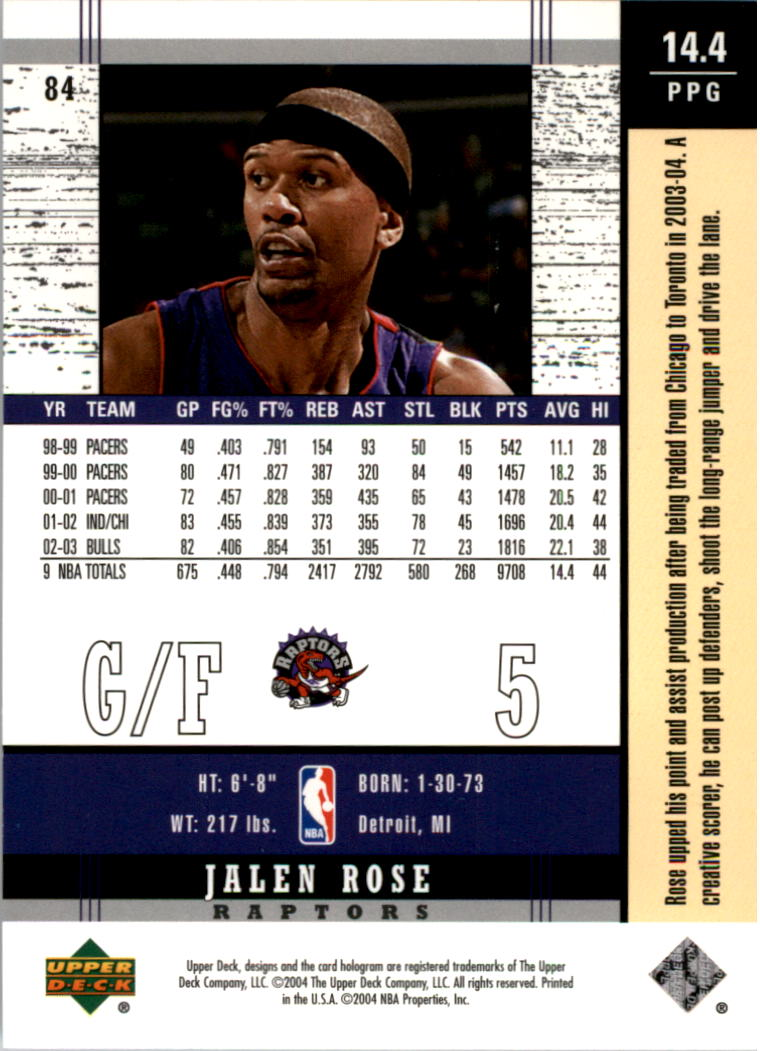2003-04-Upper-Deck-Legends-Basketball-Cards-Pick-From-List thumbnail 167