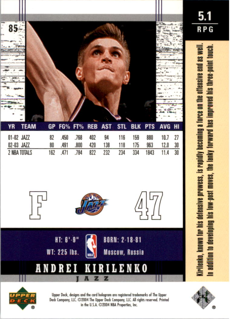 2003-04-Upper-Deck-Legends-Basketball-Cards-Pick-From-List thumbnail 169