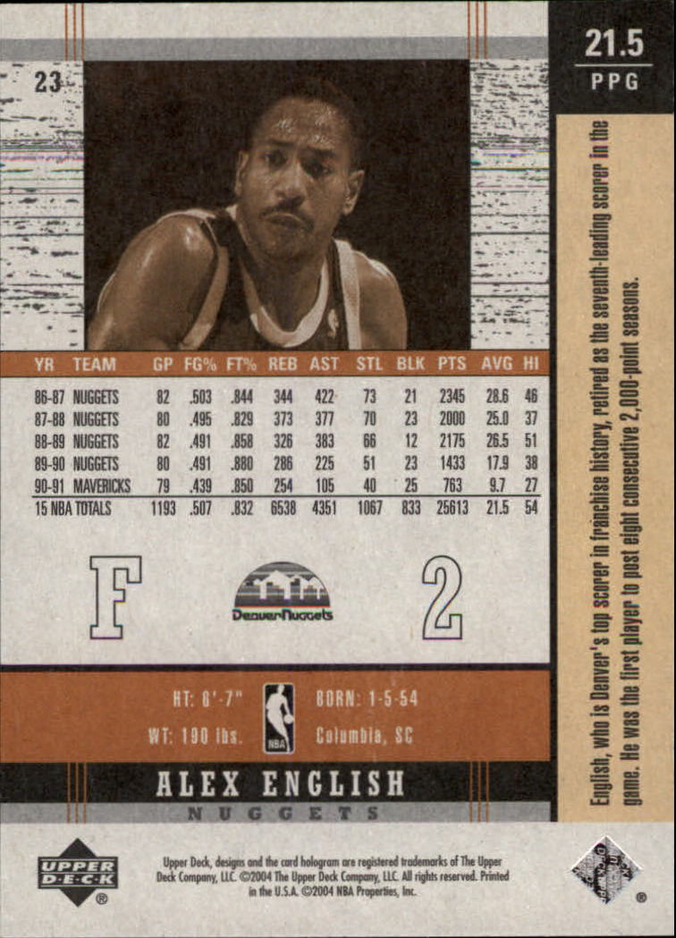 2003-04-Upper-Deck-Legends-Basketball-Cards-Pick-From-List thumbnail 299