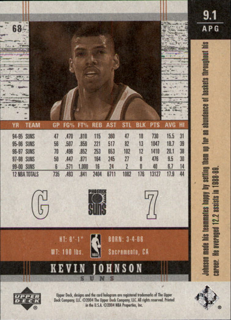 2003-04-Upper-Deck-Legends-Basketball-Cards-Pick-From-List thumbnail 383