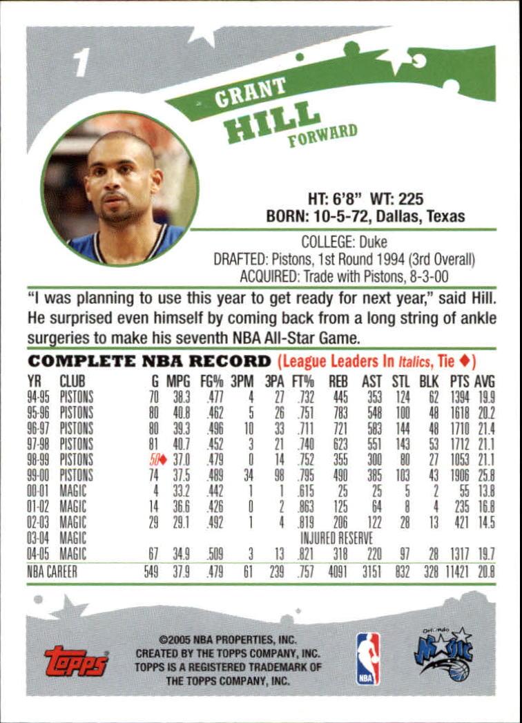 2005-06-Topps-Basketball-Cards-Base-Set-Pick-From-List thumbnail 3