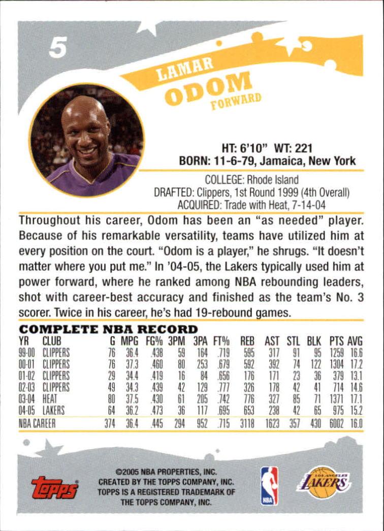 2005-06-Topps-Basketball-Cards-Base-Set-Pick-From-List thumbnail 11