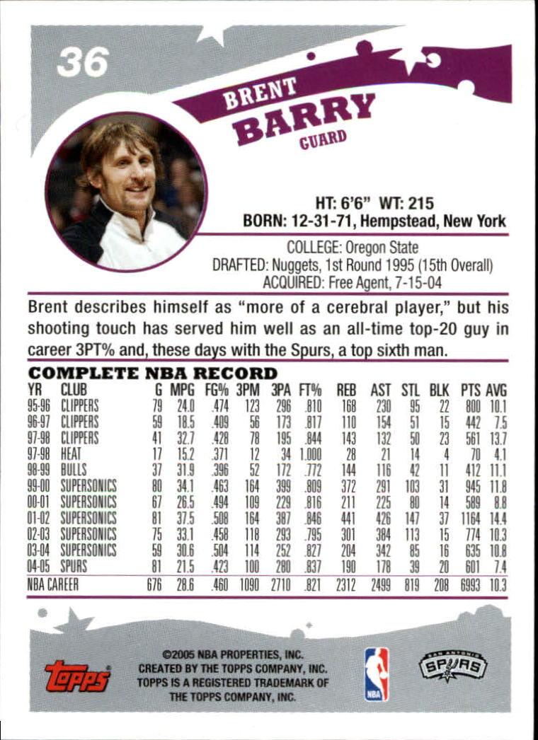 2005-06-Topps-Basketball-Cards-Base-Set-Pick-From-List thumbnail 73