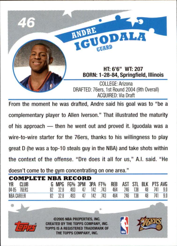 2005-06-Topps-Basketball-Cards-Base-Set-Pick-From-List thumbnail 93