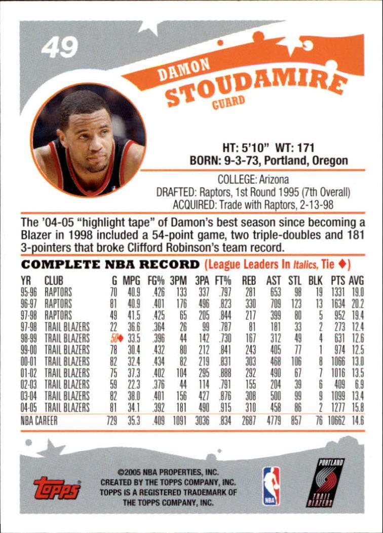 2005-06-Topps-Basketball-Cards-Base-Set-Pick-From-List thumbnail 99