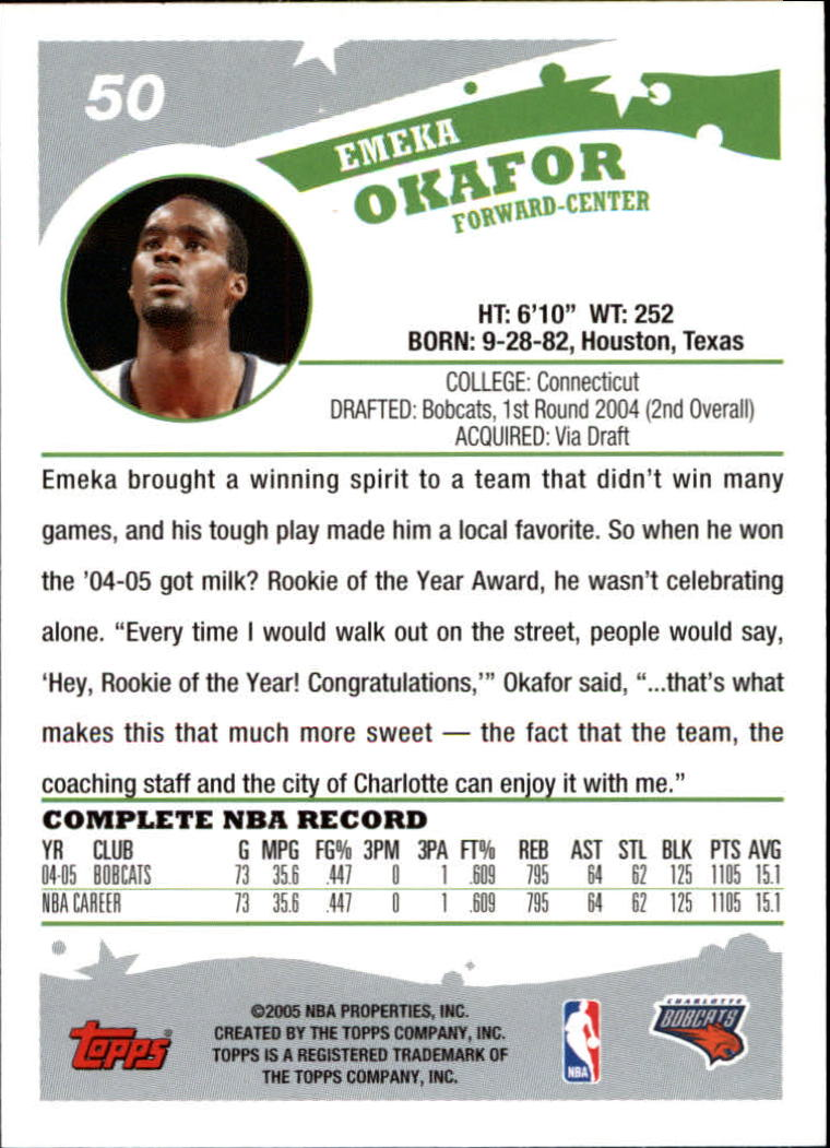 2005-06-Topps-Basketball-Cards-Base-Set-Pick-From-List thumbnail 101