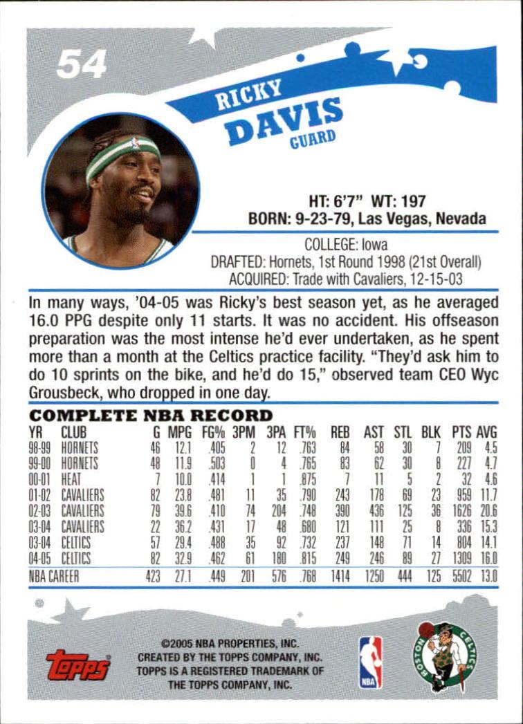 2005-06-Topps-Basketball-Cards-Base-Set-Pick-From-List thumbnail 109