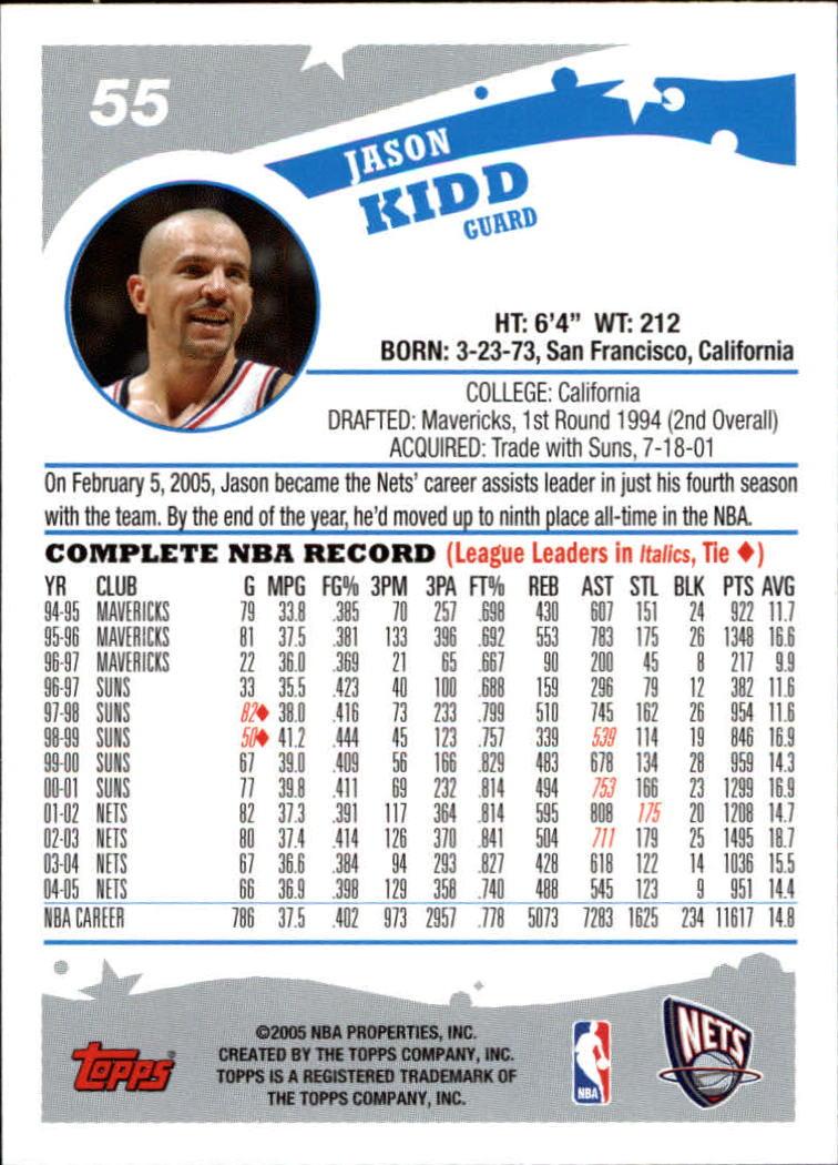 2005-06-Topps-Basketball-Cards-Base-Set-Pick-From-List thumbnail 111