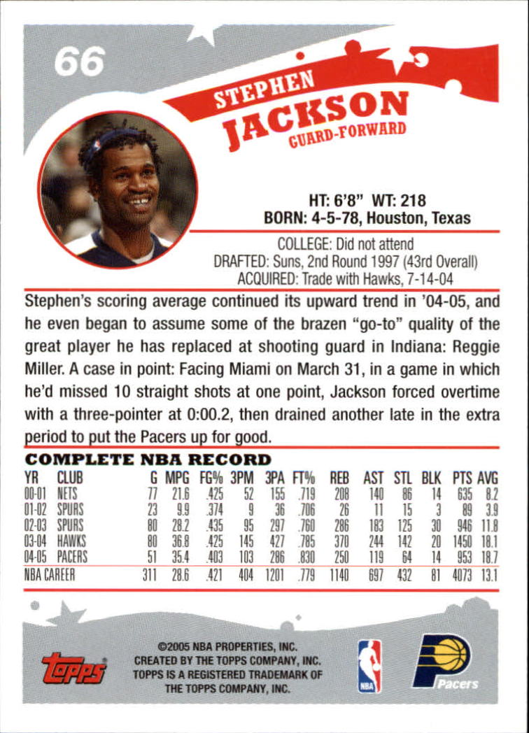 2005-06-Topps-Basketball-Cards-Base-Set-Pick-From-List thumbnail 133