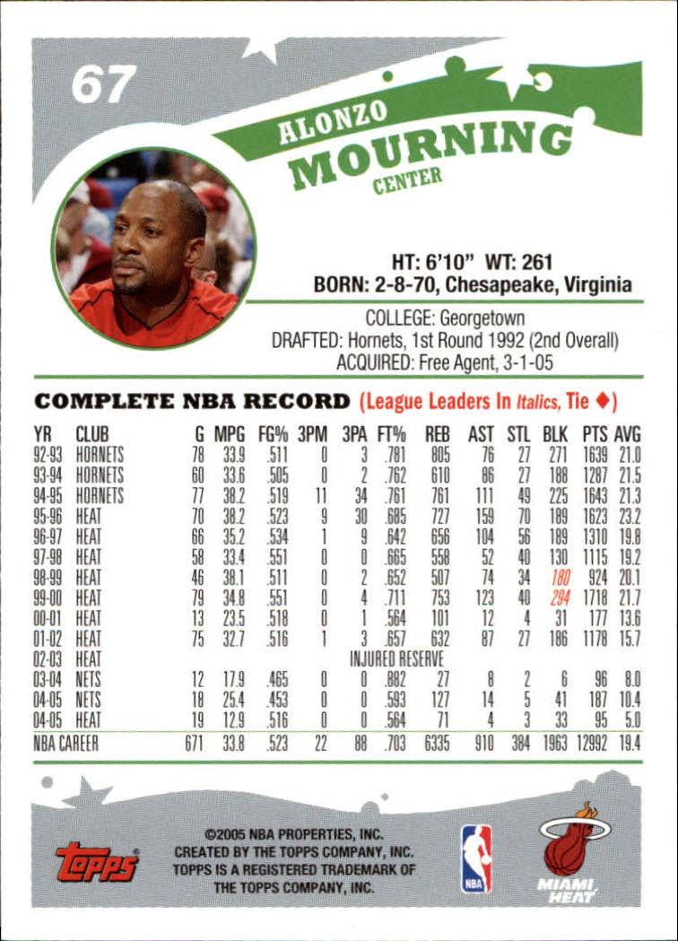 2005-06-Topps-Basketball-Cards-Base-Set-Pick-From-List thumbnail 135