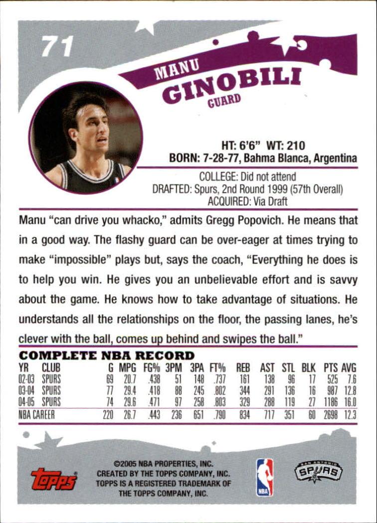 2005-06-Topps-Basketball-Cards-Base-Set-Pick-From-List thumbnail 141