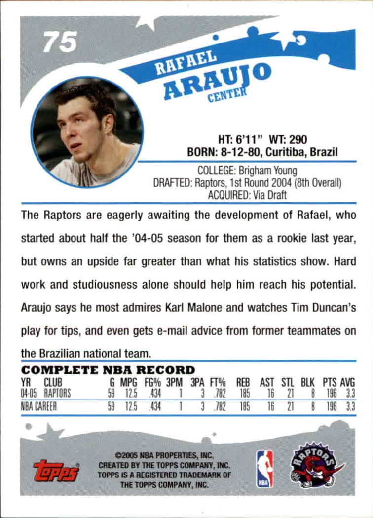 2005-06-Topps-Basketball-Cards-Base-Set-Pick-From-List thumbnail 149