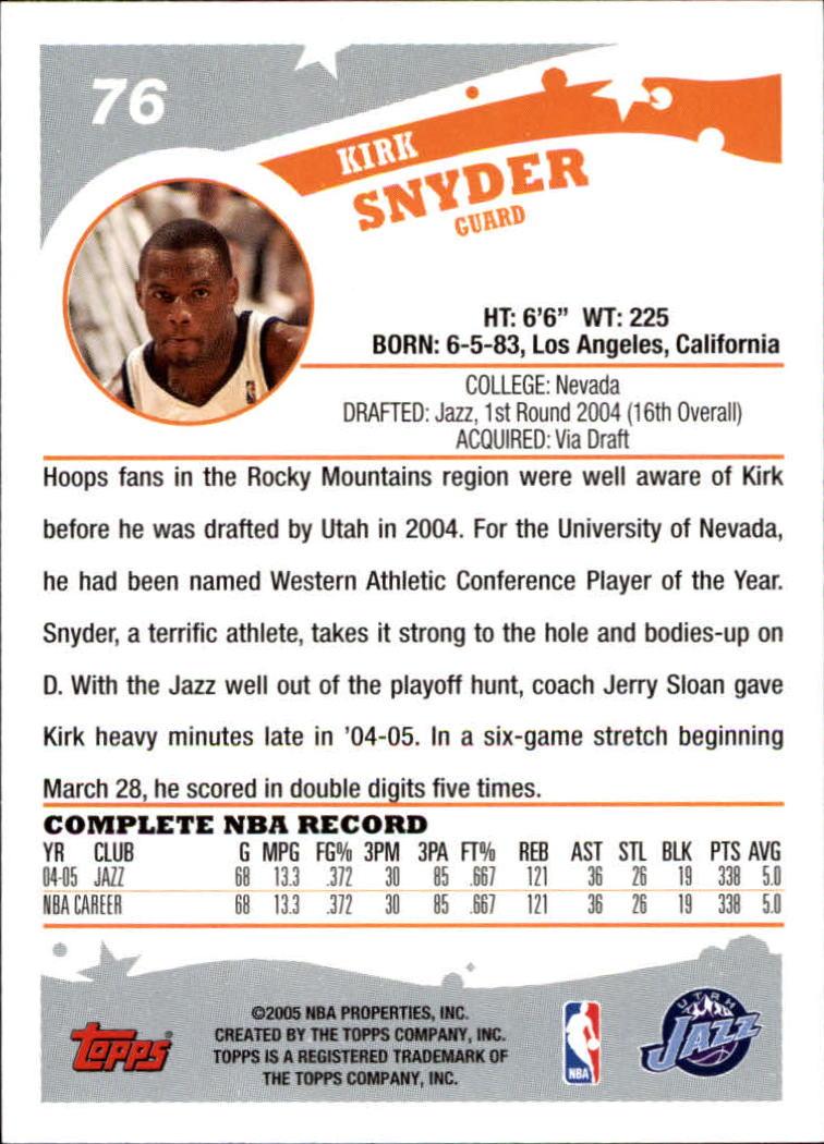 2005-06-Topps-Basketball-Cards-Base-Set-Pick-From-List thumbnail 151