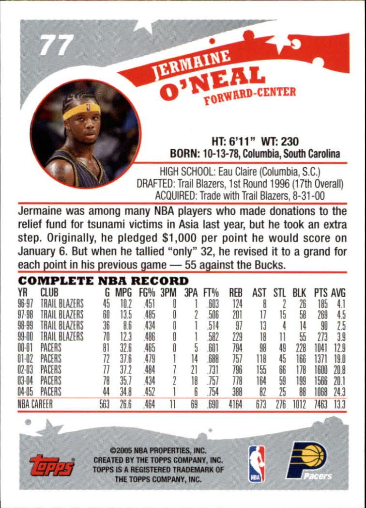 2005-06-Topps-Basketball-Cards-Base-Set-Pick-From-List thumbnail 153