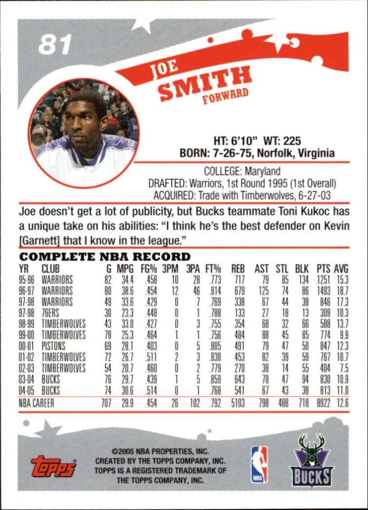 2005-06-Topps-Basketball-Cards-Base-Set-Pick-From-List thumbnail 161