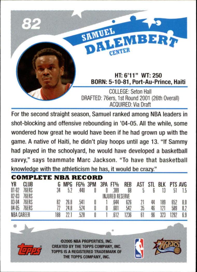 2005-06-Topps-Basketball-Cards-Base-Set-Pick-From-List thumbnail 163