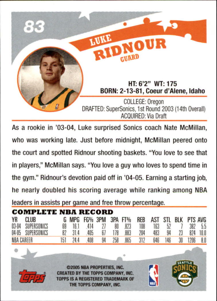 2005-06-Topps-Basketball-Cards-Base-Set-Pick-From-List thumbnail 165
