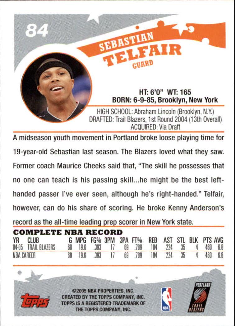 2005-06-Topps-Basketball-Cards-Base-Set-Pick-From-List thumbnail 167