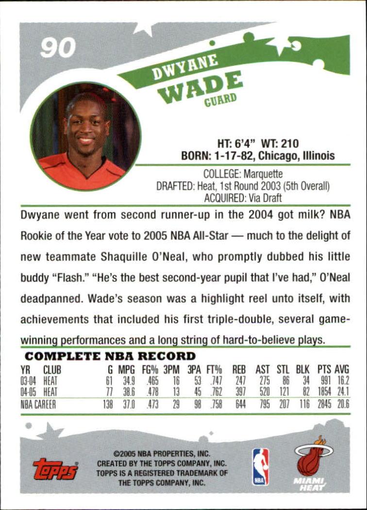 2005-06-Topps-Basketball-Cards-Base-Set-Pick-From-List thumbnail 179