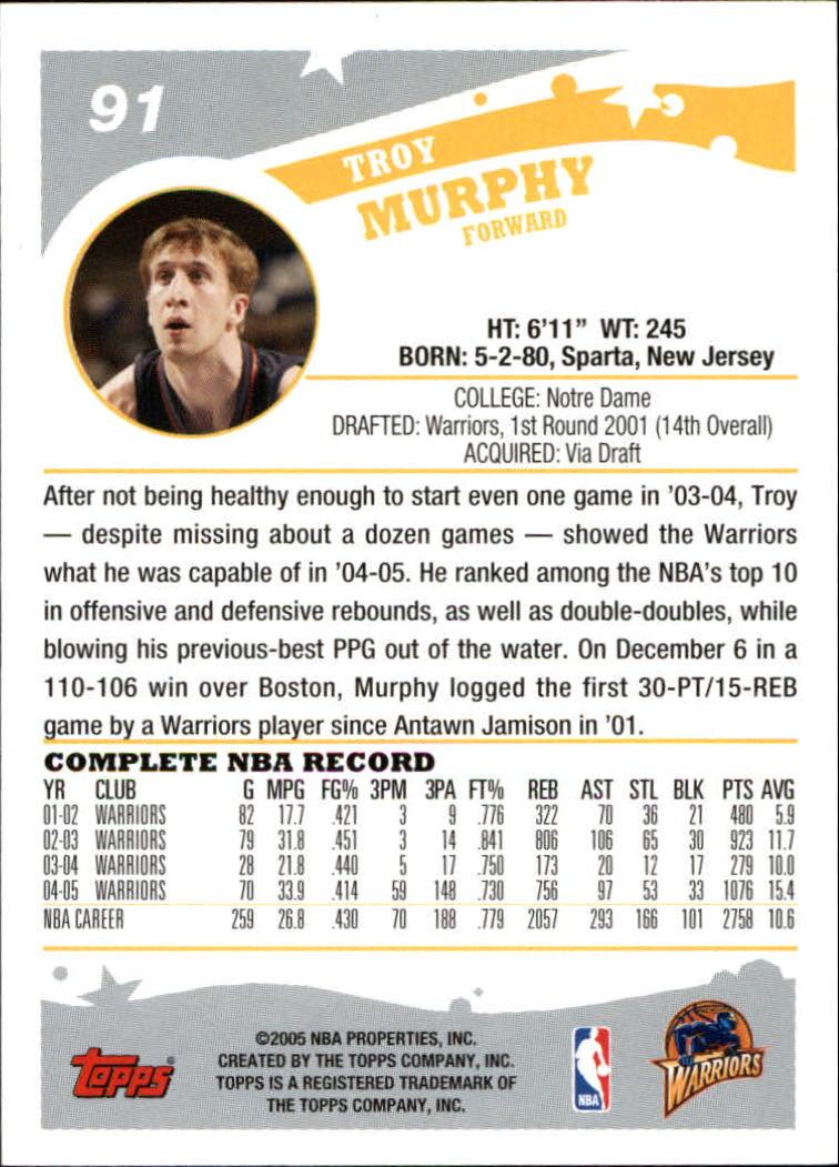 2005-06-Topps-Basketball-Cards-Base-Set-Pick-From-List thumbnail 181