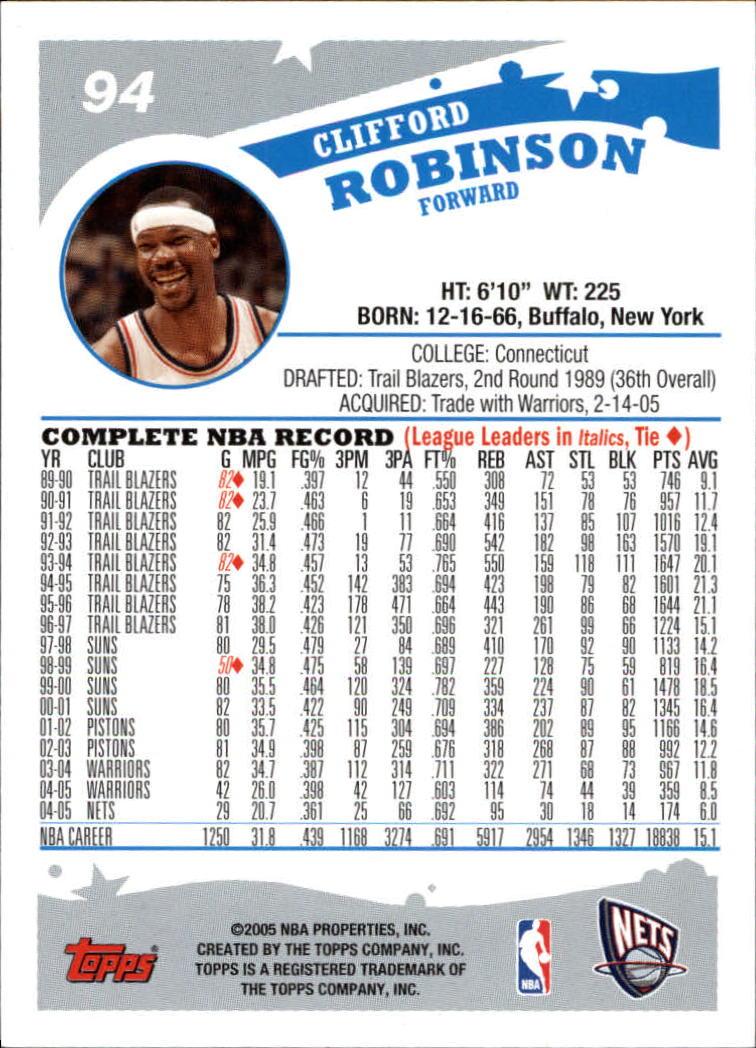 2005-06-Topps-Basketball-Cards-Base-Set-Pick-From-List thumbnail 187