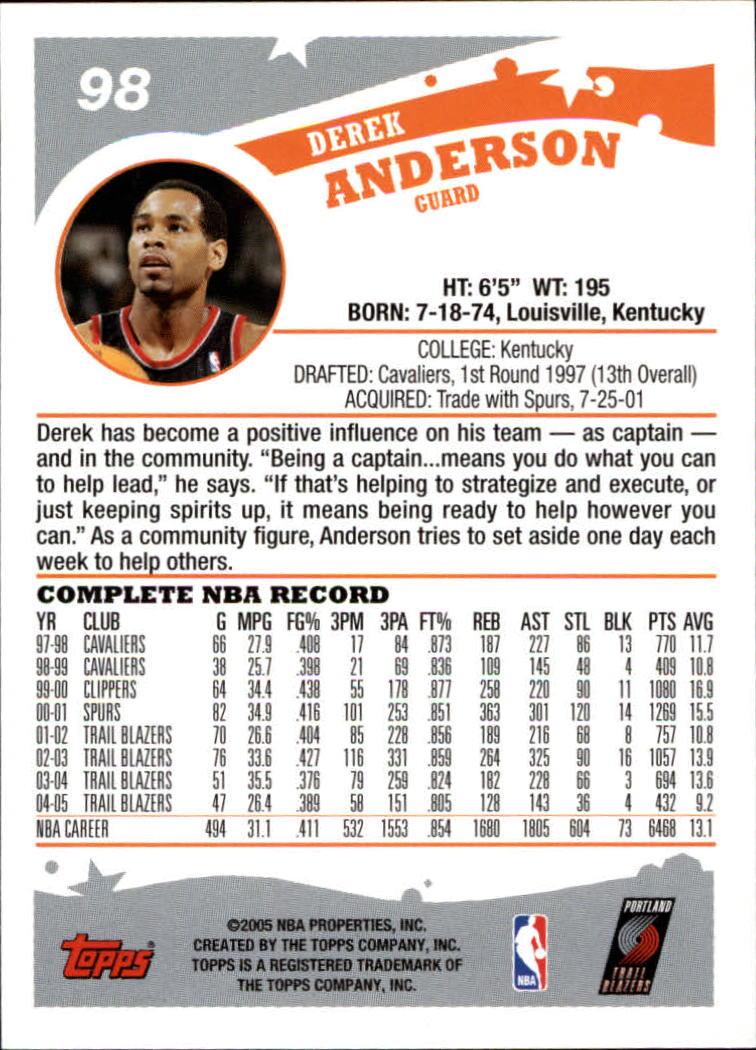 2005-06-Topps-Basketball-Cards-Base-Set-Pick-From-List thumbnail 195