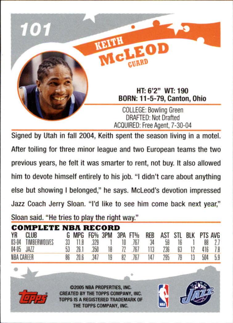 2005-06-Topps-Basketball-Cards-Base-Set-Pick-From-List thumbnail 201