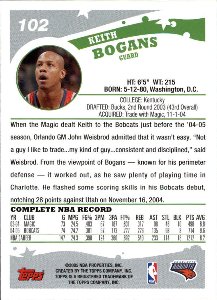 2005-06-Topps-Basketball-Cards-Base-Set-Pick-From-List thumbnail 203