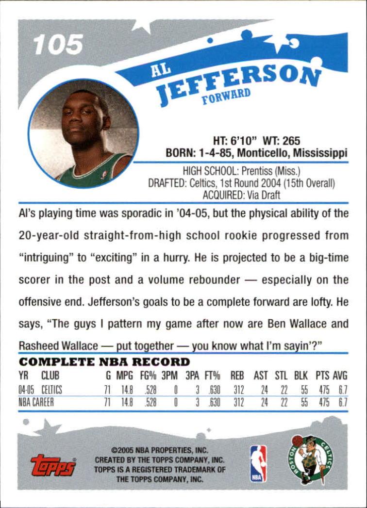 2005-06-Topps-Basketball-Cards-Base-Set-Pick-From-List thumbnail 209