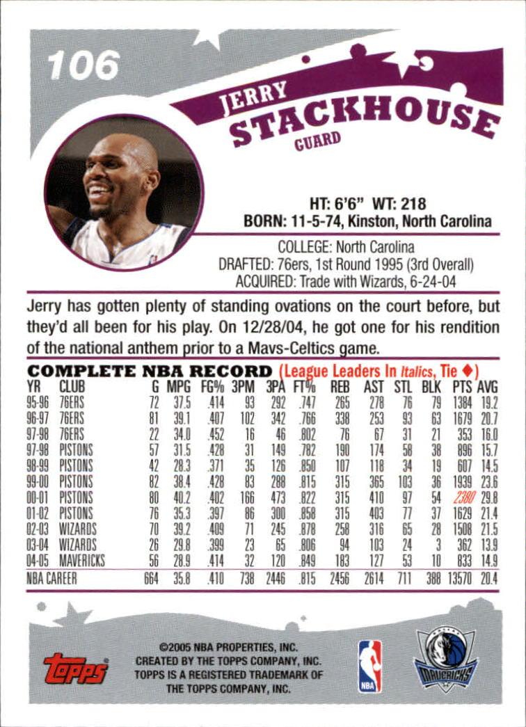 2005-06-Topps-Basketball-Cards-Base-Set-Pick-From-List thumbnail 211