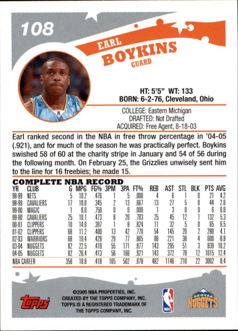 2005-06-Topps-Basketball-Cards-Base-Set-Pick-From-List thumbnail 215
