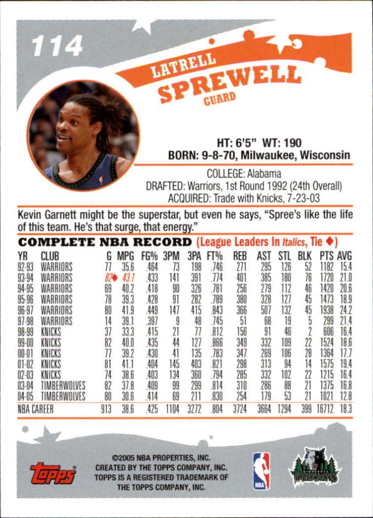 2005-06-Topps-Basketball-Cards-Base-Set-Pick-From-List thumbnail 227