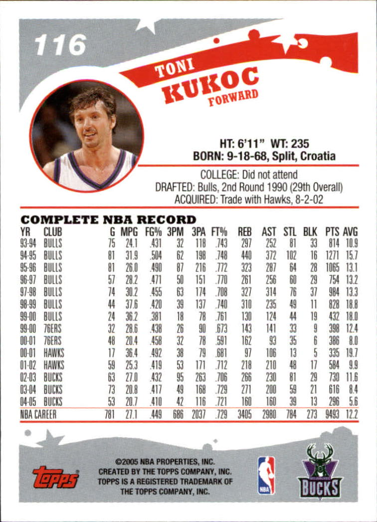 2005-06-Topps-Basketball-Cards-Base-Set-Pick-From-List thumbnail 231