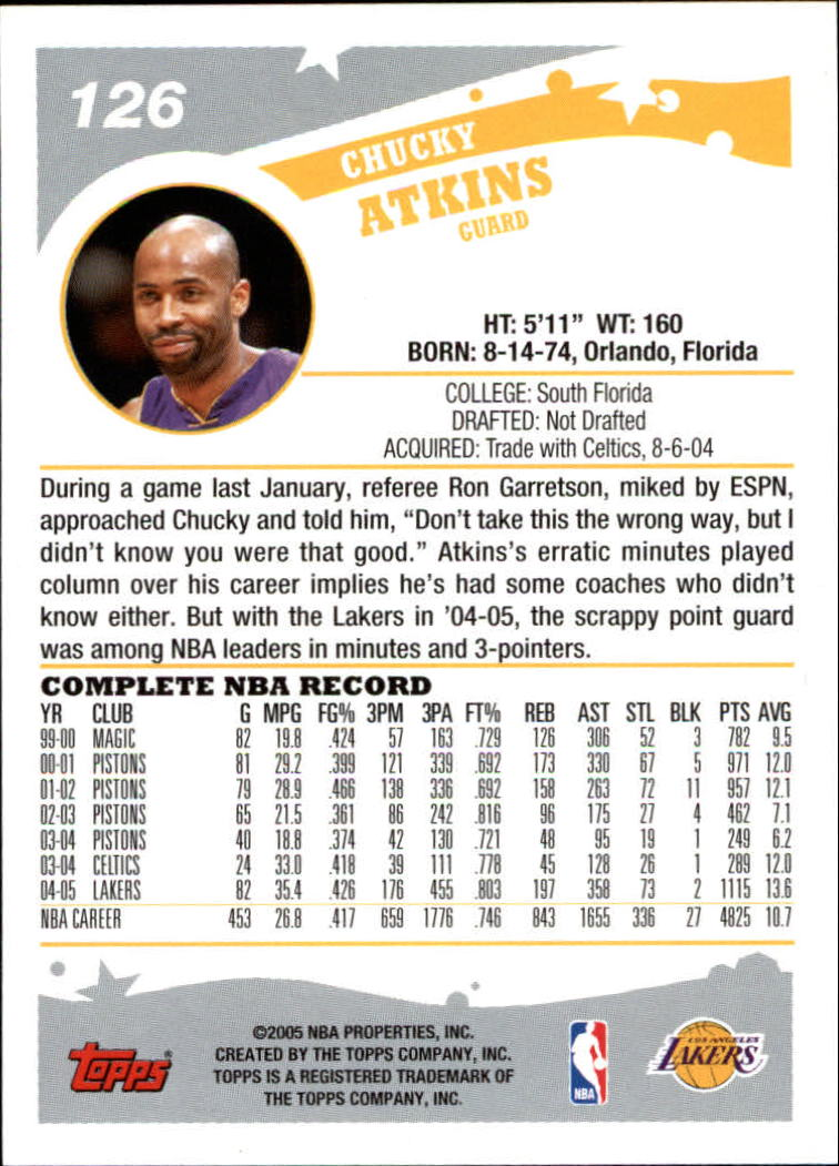 2005-06-Topps-Basketball-Cards-Base-Set-Pick-From-List thumbnail 251