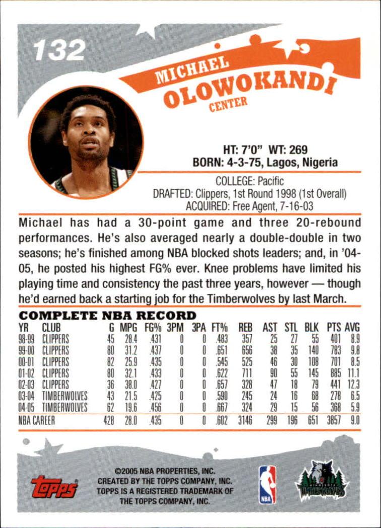2005-06-Topps-Basketball-Cards-Base-Set-Pick-From-List thumbnail 263