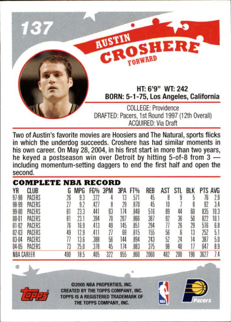 2005-06-Topps-Basketball-Cards-Base-Set-Pick-From-List thumbnail 273