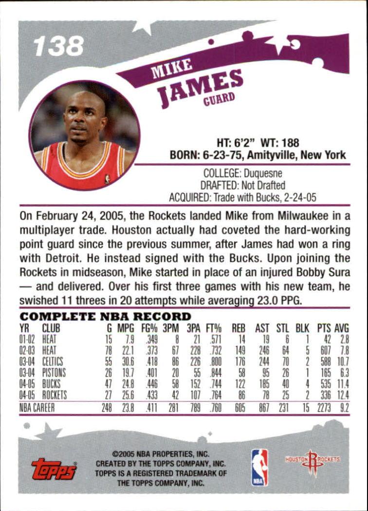2005-06-Topps-Basketball-Cards-Base-Set-Pick-From-List thumbnail 275