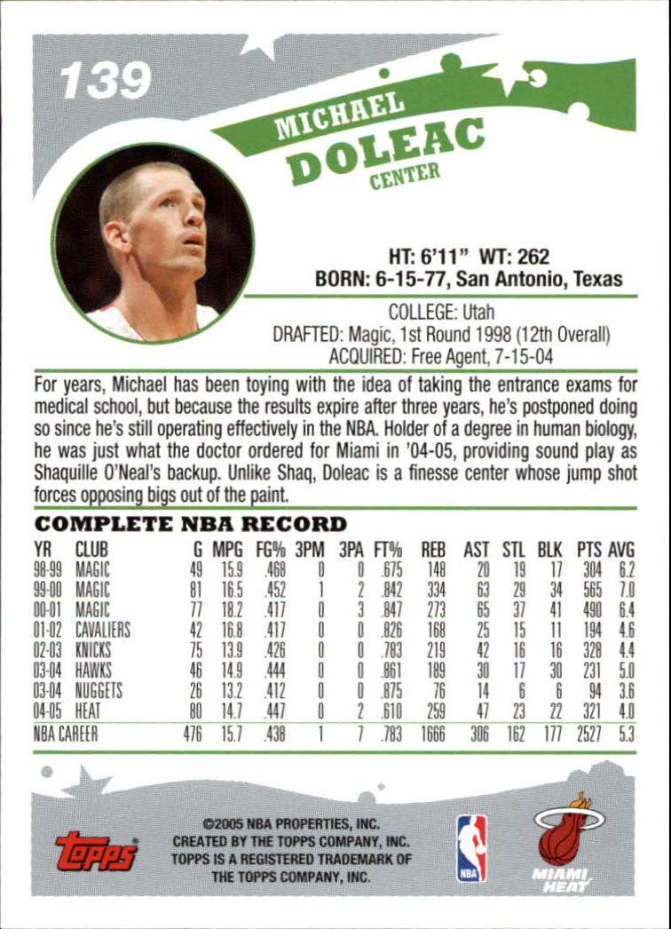 2005-06-Topps-Basketball-Cards-Base-Set-Pick-From-List thumbnail 277