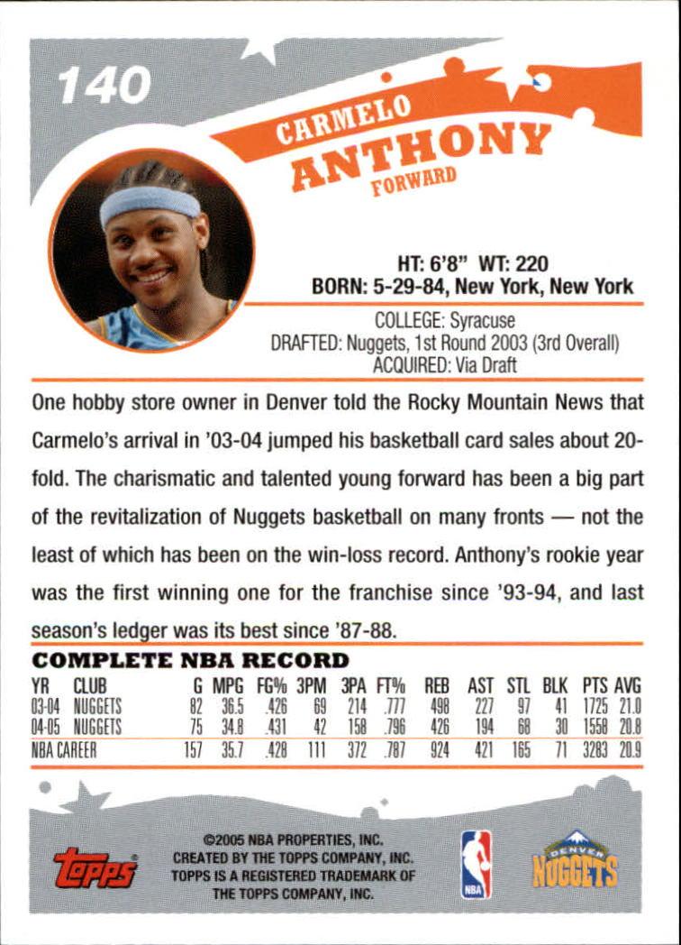 2005-06-Topps-Basketball-Cards-Base-Set-Pick-From-List thumbnail 279