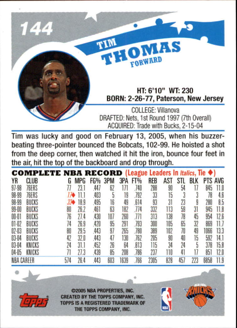 2005-06-Topps-Basketball-Cards-Base-Set-Pick-From-List thumbnail 287